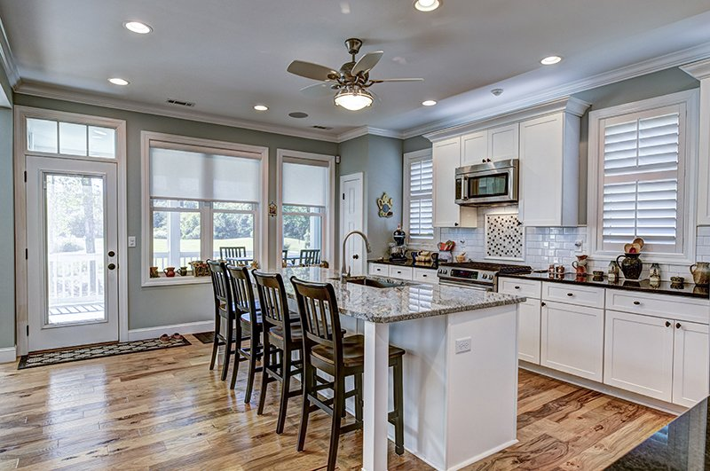 Beautiful kitchen remodel with granite countertops