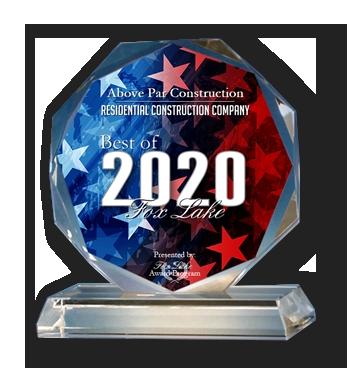 Above Par Construction Best of Fox Lake 2020