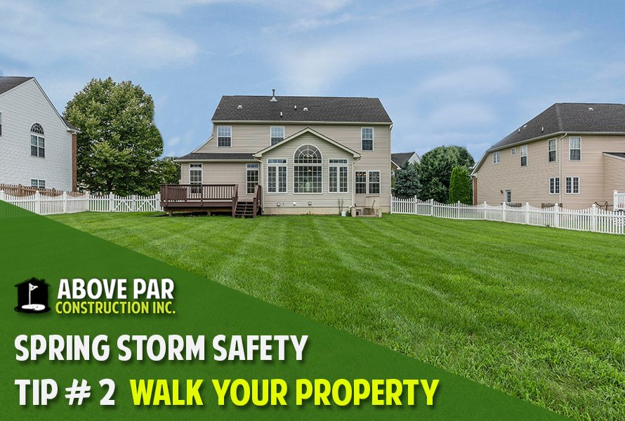 Spring Storm Safety Tip #2