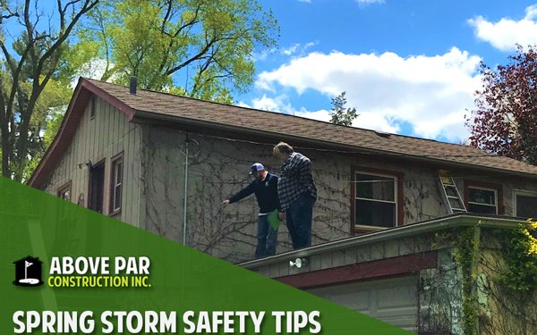 Spring Storm Safety Tips