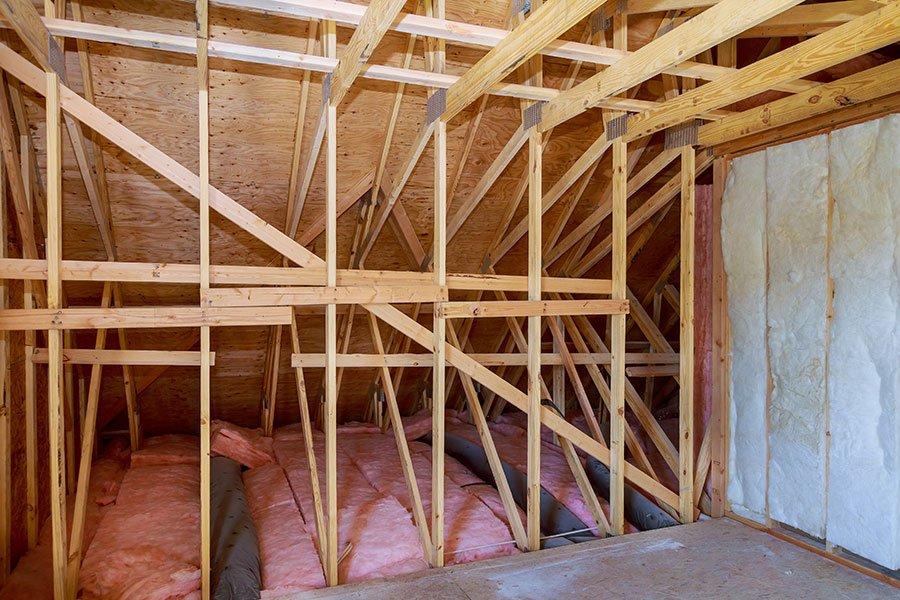 fiberglass attic insulation