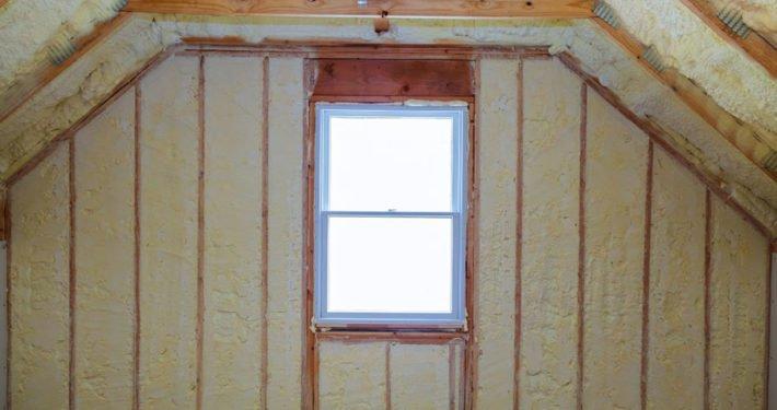 foam attic insulation