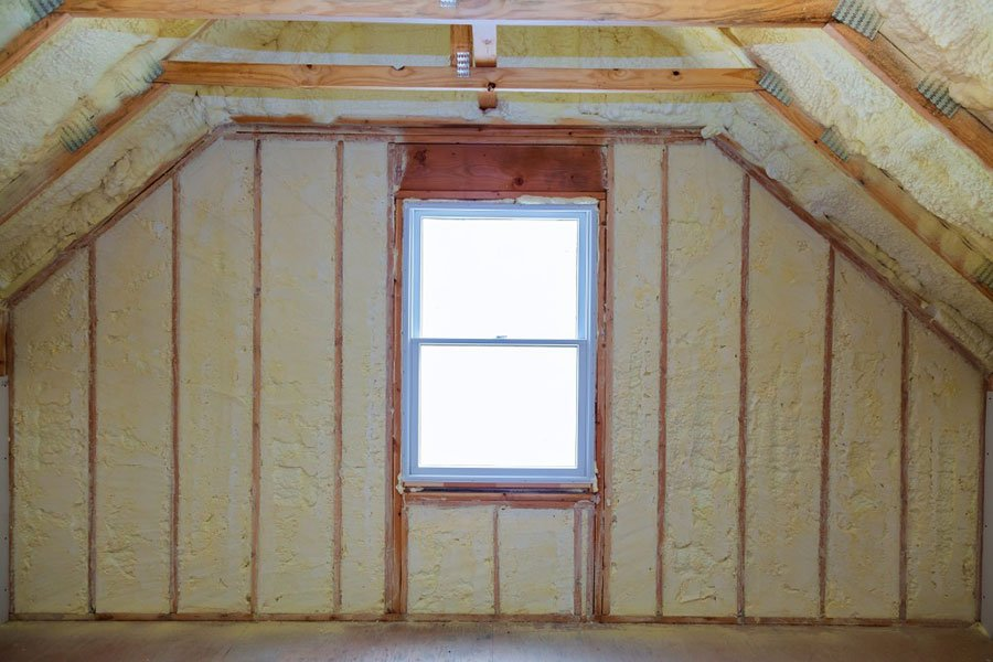foam attic insulation